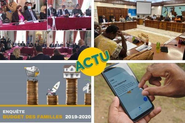 Discussions engagées à Paris, assemblée de la province des Iles, Isée et foncier : l'actu à la 1 du vendredi 28 mai 2021