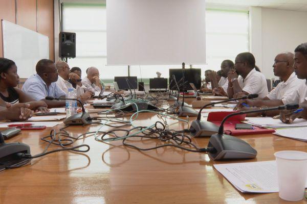 Rencontre entre le SPEG et les élus