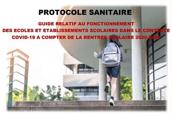 Protocole sanitaire - rentrée 2020-2021
