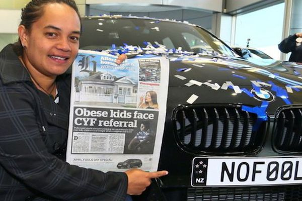 No Fool chez BMW NZ