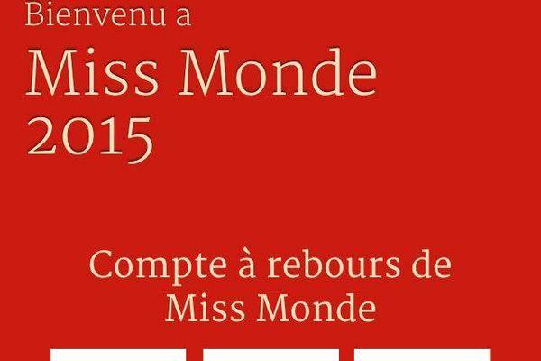 A vous de poursuivre le compte à rebours des fans Miss World
