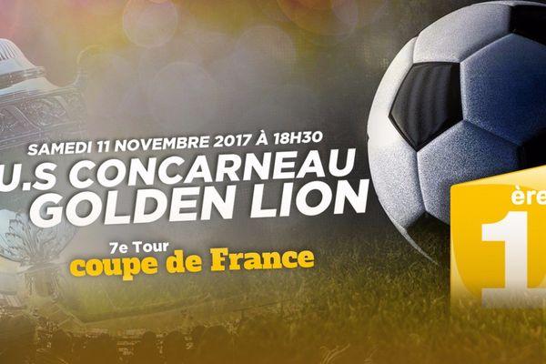 Affiche coupe de France :