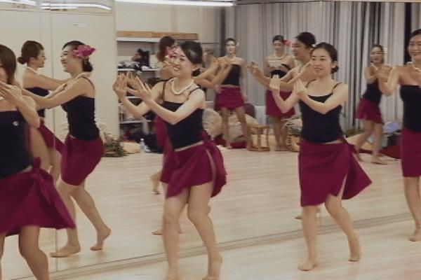 Le 'ori tahiti au Japon