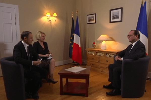 Entretien exclusif Hollande