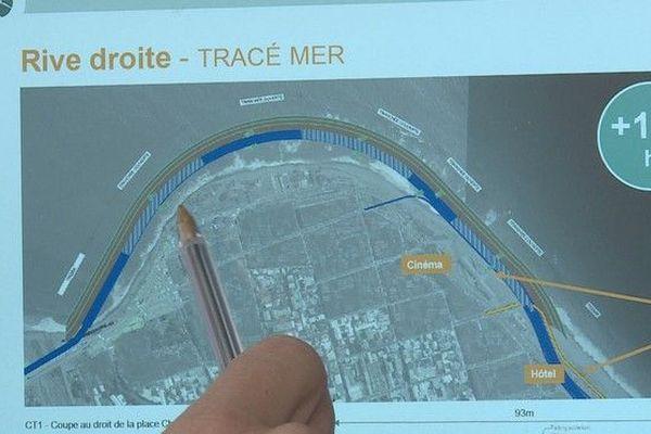 """NEO Nouvelle entrée ouest de Saint-Denis """"tracé mer"""" 270619"""