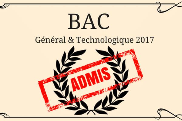 Les résultats 2017 du BAC en Polynésie française