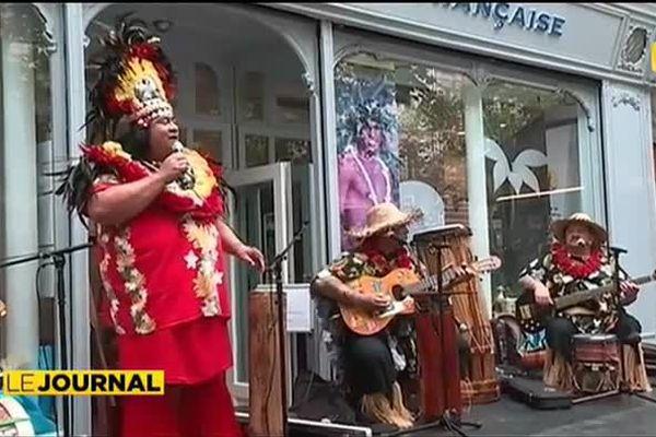 Le Ori Tahiti s'invite dans la capitale française