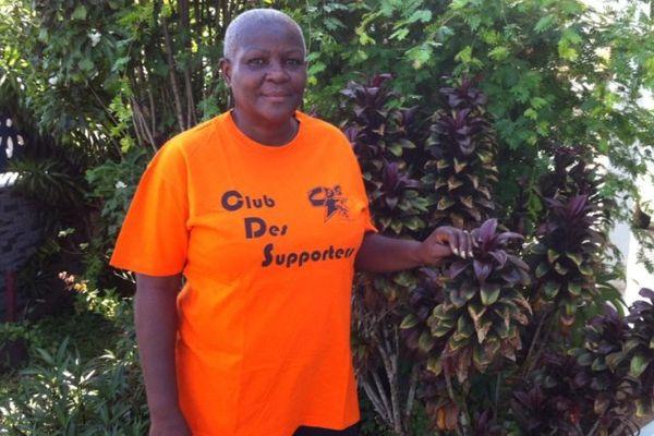 Ginette Prissaint, supportrice invétérée du Tour de Guyane