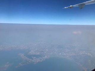 Fumées australiennes, 11 novembre, avion.