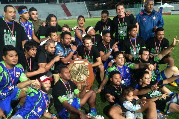 URCD Union rugby-club de Dumbéa champion territorial 23 septembre 2017