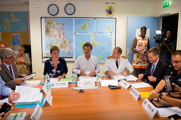 Hulot et Girardin plan sargasses (Martinique)