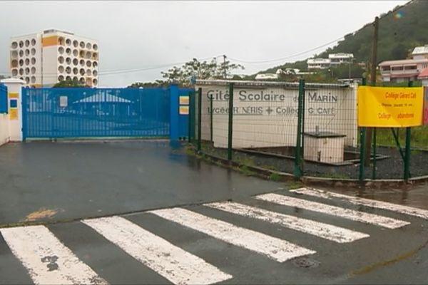 Mobilisation collège du Marin