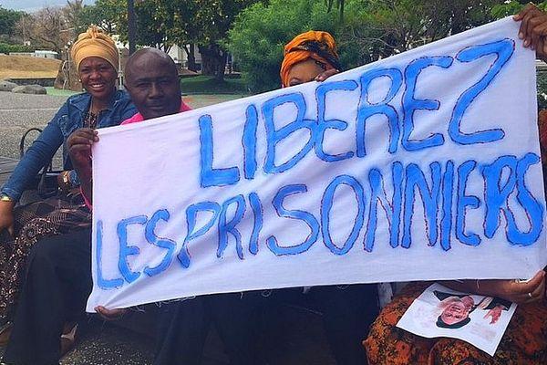 Manifestation pour la liberté aux Comores