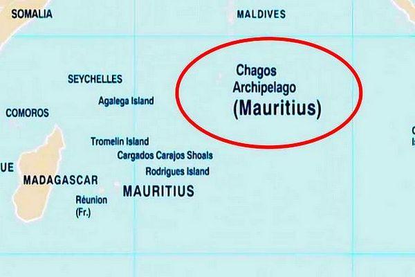 Nouvelle carte de l'ONU concernant les Chagos (Mauritius)