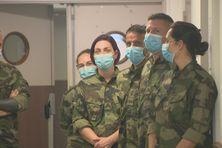 Renfort militaire au CHC
