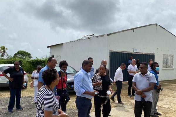 Inauguration usine de production eau de Vernou Guy Losbar et Josette Borel Lincertin
