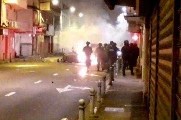 manifestations dans Fort-de-France
