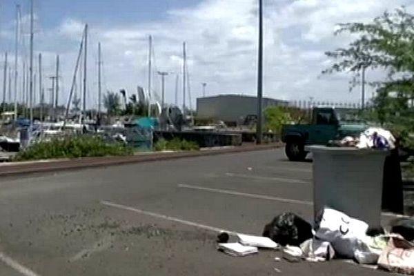 Port de plaisance : déchets