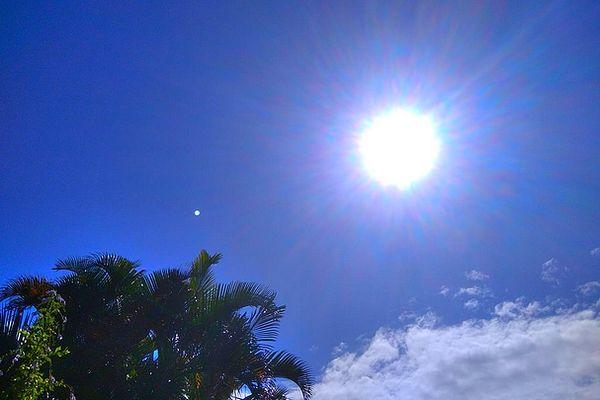 Ciel et nuages sur Saint-Joseph 26 mai 2021