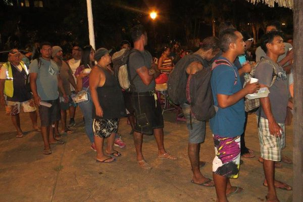Ils seraient environ 750 SDF à Papeete