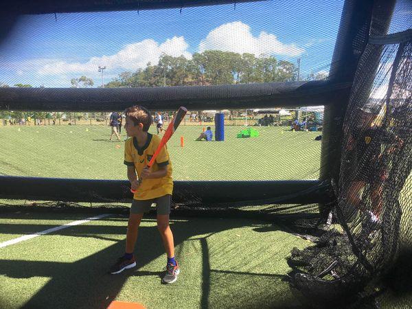 Faites du sport 2021, à Nouméa, Magenta, base-ball
