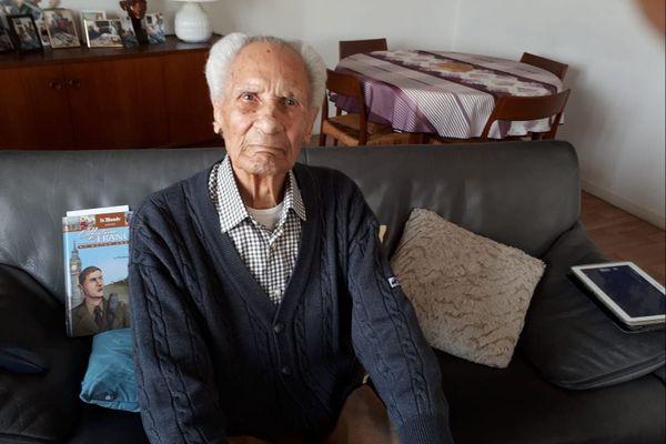 Octave Perette ancien combattant