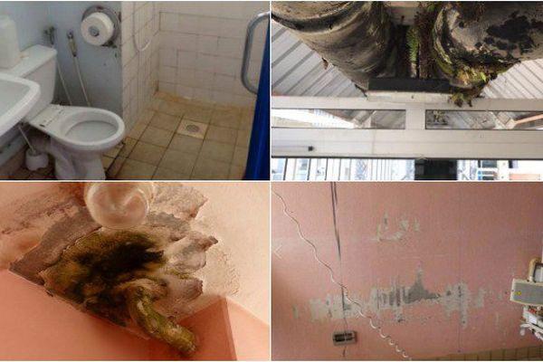 Des images de l'état de l'hôpital de Cayenne inondent les réseaux sociaux.