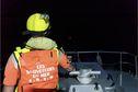 """""""Elles se sont toutes retrouvées à l'eau"""", quatre personnes secourues ce dimanche matin après avoir passé la nuit en mer"""