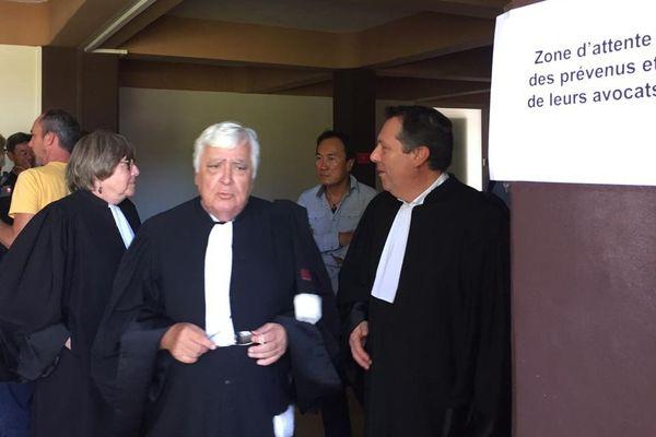 Les avocats de la défense ont plaidé la relaxe générale
