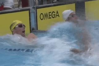 Camille Lacourt, une star de la natation