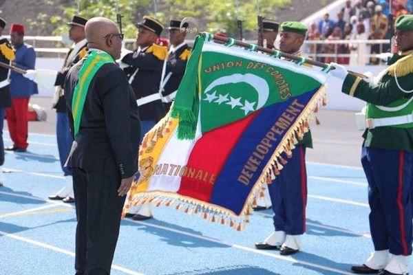 Comores investiture président élu Azali Assoumani 260519