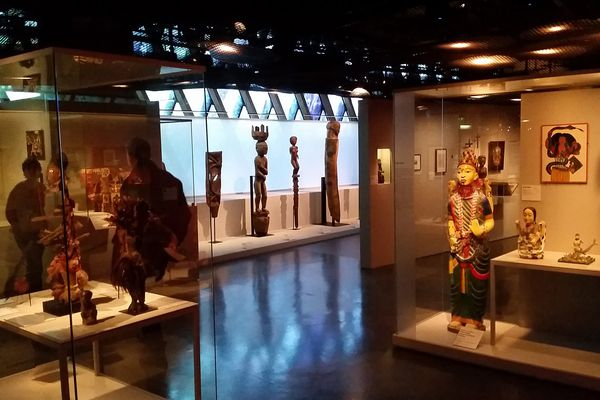 Vue d'une partie de l'exposition