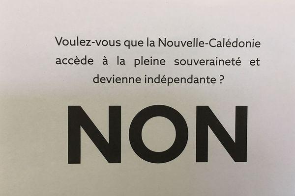 "Bulletin ""NON"""