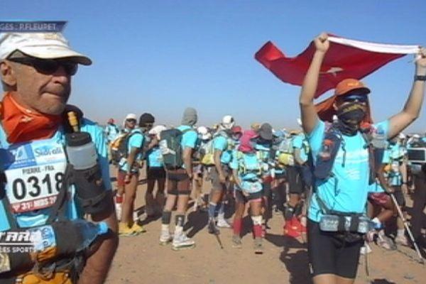 Cinq Polynésiens au marathon des sables