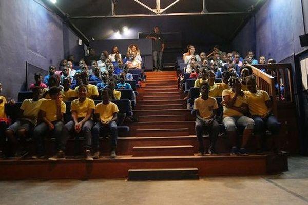 Projection au grand théâtre