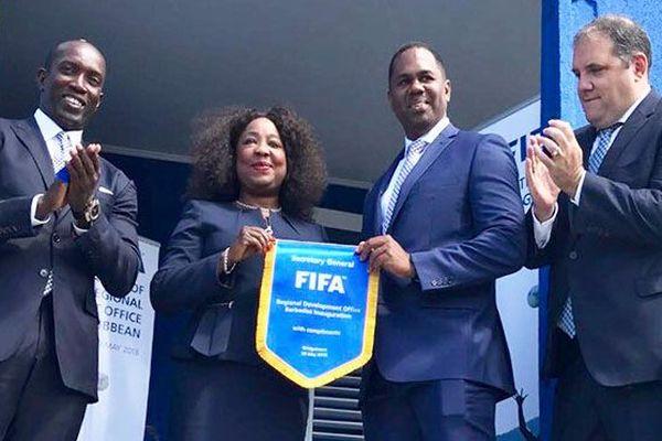 La FIFA ouvre un bureau régional à la Barbade