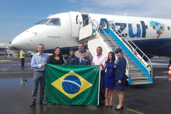 Inauguration du vol direct Cayenne-Fortaleza
