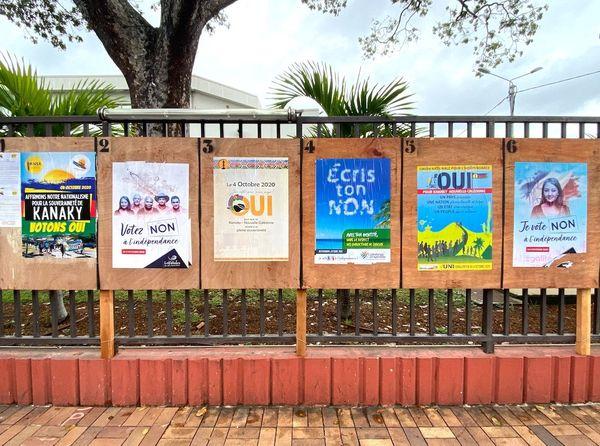 Référendum 2020, panneaux électoraux
