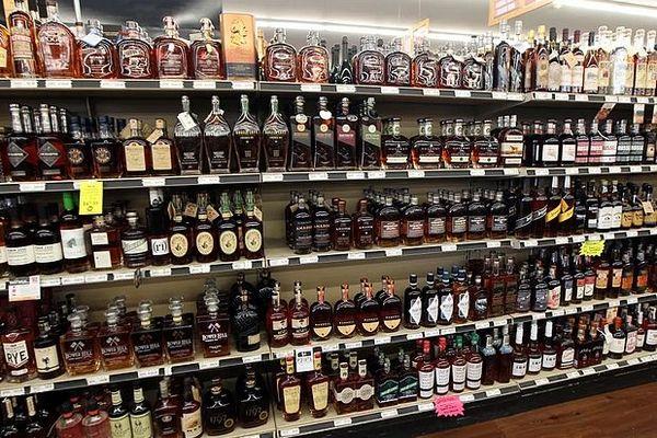 Alcool en rayon