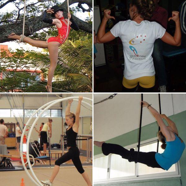 Anouck a fait ses classes à l'Ecole du cirque de Nouvelle-Calédonie