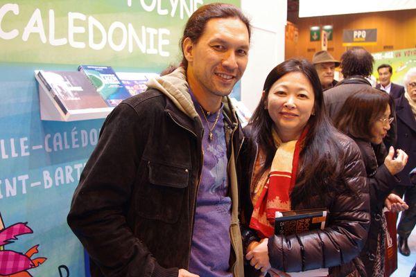 Caroline Tang et Teheiura