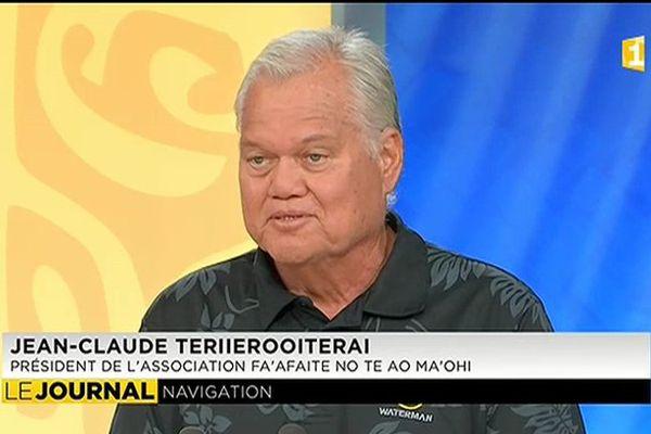 Invités du journal :  JC. Teriierooiterai  et Titaua Teipoarii, de retour de l'expédition «Faafaite »