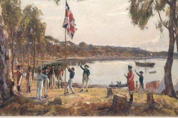 Le débarquement de janvier 1788