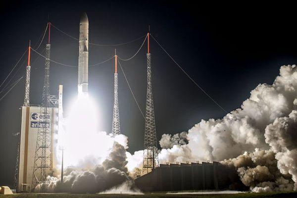Décollage de la fusée Vega