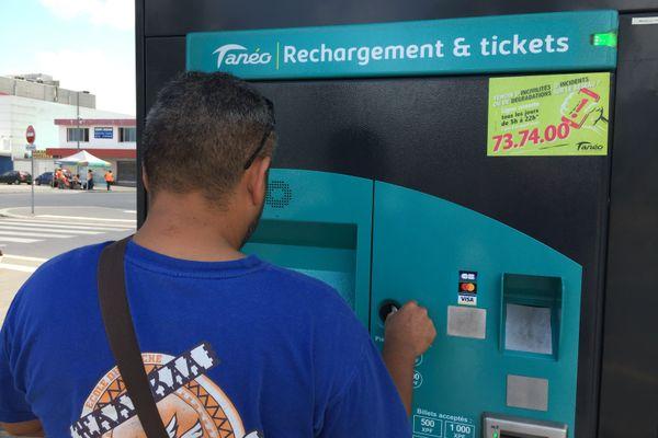 Tanéo recharge tickets