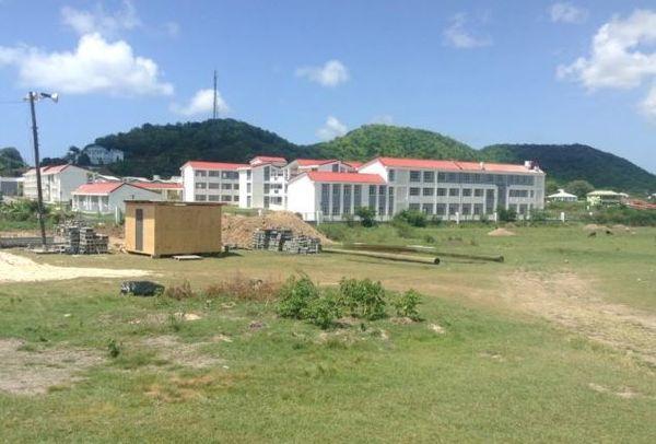Antigua et Barbuda bâtiments université