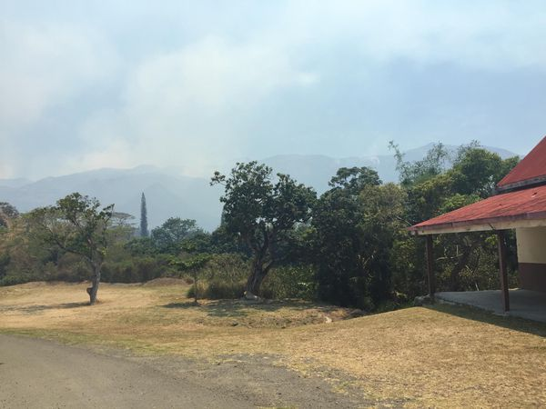 Incendie Mont Dore