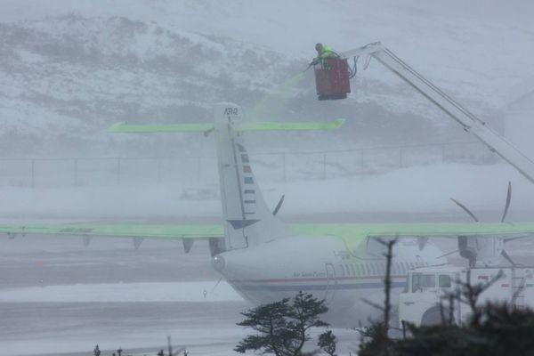 ATR 42 Air Saint Pierre hiver