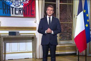 REPLAY. Les vœux d'Emmanuel Macron aux Français