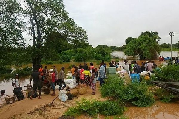 Sinistrés à Madagascar janvier 2019